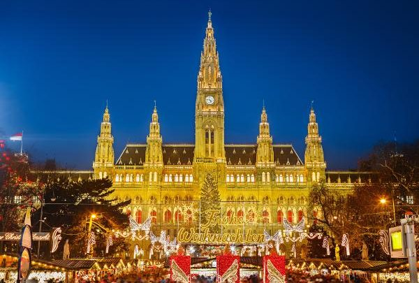 Vánoční trhy Vídeň