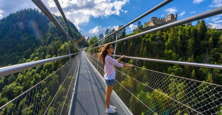 visutý most Highline179