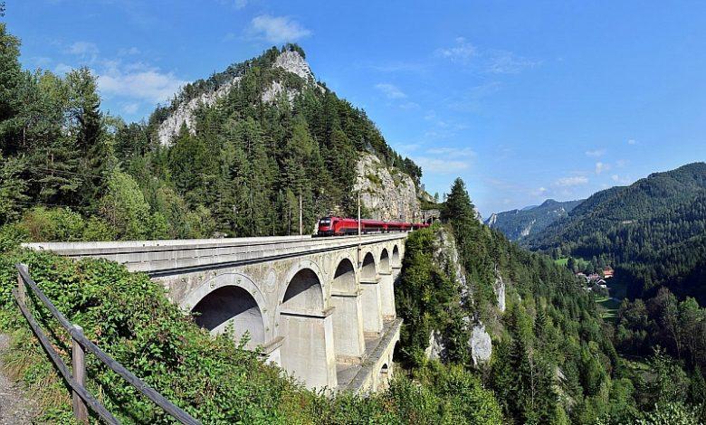 Semmeringbahn, vlak Semmering