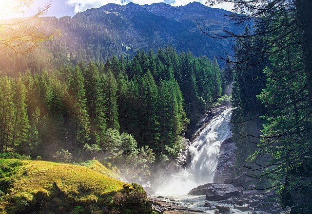 vodopády rakousko