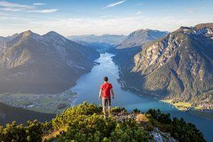 jezero Achensee, dovolená rakousko, rakouska jezera, dovolena u jezera