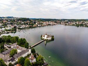 léto rakousko, léto v rakousku, dovolená v rakousku, dovolená u jezera, traunsee, ort am traunsee