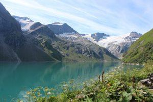 kaprun zell am see, rakousko léto, dovolená v rakousku, ledovec rakousko, lyžování na ledovci rakousko