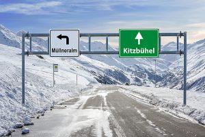 Alpy, lyžování alpy, víkendové lyžování v alpách